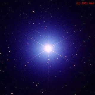 Doreen's blue light from Sirius